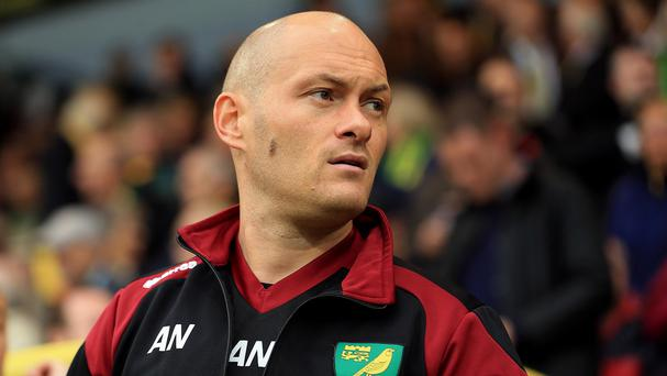 Alex Neil, pictured, is ready to take on Arsene Wenger