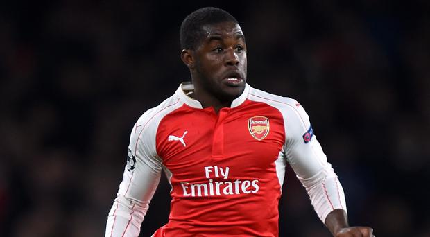 Joel Campbell is enjoying an extended run in the Arsenal side
