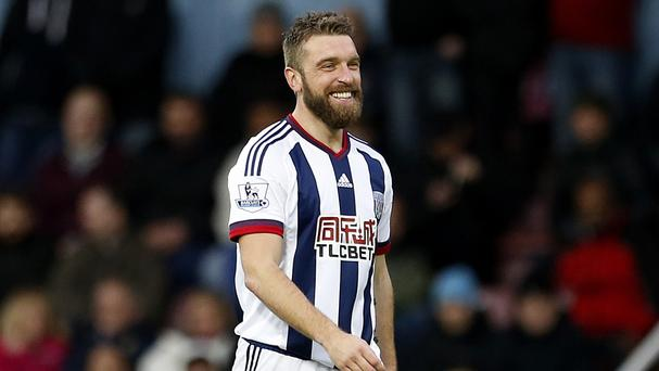 Rickie Lambert's goal helped West Brom claim a point