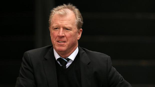 Steve McClaren, pictured, admits Newcastle are against the clock in their bid to avoid an all-out Premier League relegation battle