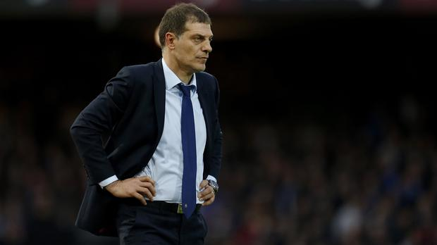Slaven Bilic watched his West Ham side draw against West Brom