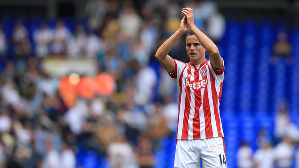 Afellay put the Potters ahead in the 30th minute.