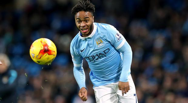 Raheem Sterling accepts his place in the Manchester City starting line-up is not guaranteed