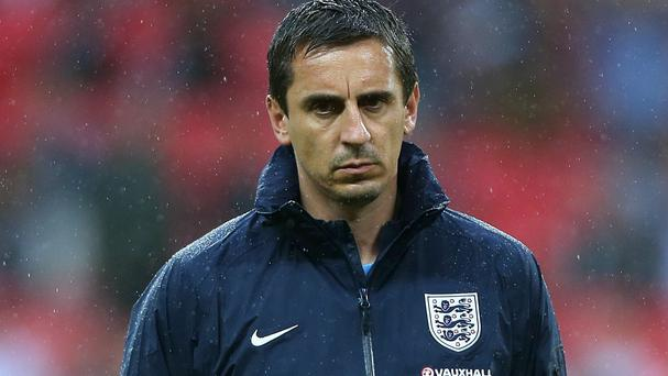 England coach Gary Neville has quit his role as Sky Sports pundit
