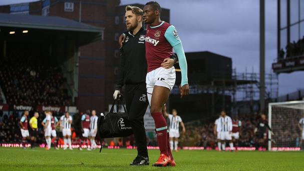 Diafra Sakho will see a specialist on Thursday