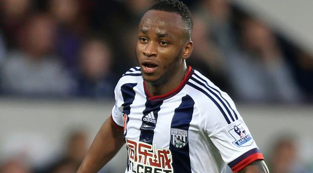West Brom's Saido Berahino has been benched at the Baggies in recent weeks