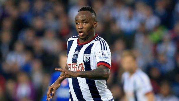 West Brom's Saido Berahino has scored three goals this season after seeing a move to Tottenham blocked