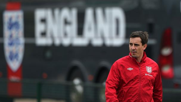 England assistant Gary Neville was appointed Valencia boss on Wednesday