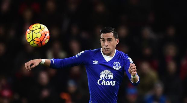 Everton manager Roberto Martinez has been impressed with Ramiro Funes Mori since his arrival in the summer.