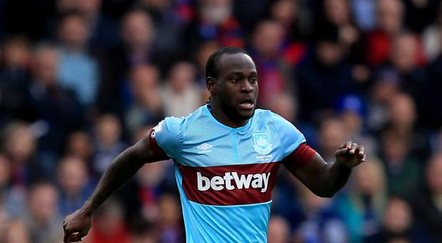 Victor Moses limped off against Manchester United with a hamstring injury