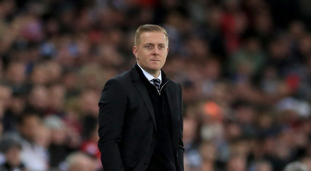Swansea chairman Huw Jenkins has hinted Garry Monk is on his way out of the club.