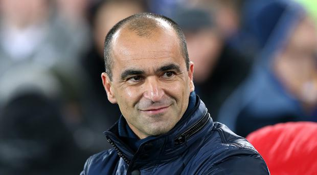 Roberto Martinez, pictured, believes Garry Monk can be pleased with his achievements at Swansea