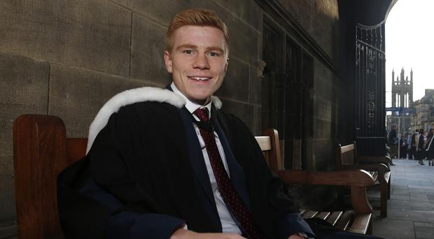 Duncan Watmore graduated with first-class honours in economics and business management
