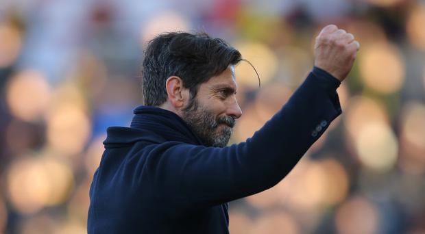 Watford manager Quique Sanchez Flores is determined to keep expectation levels in check