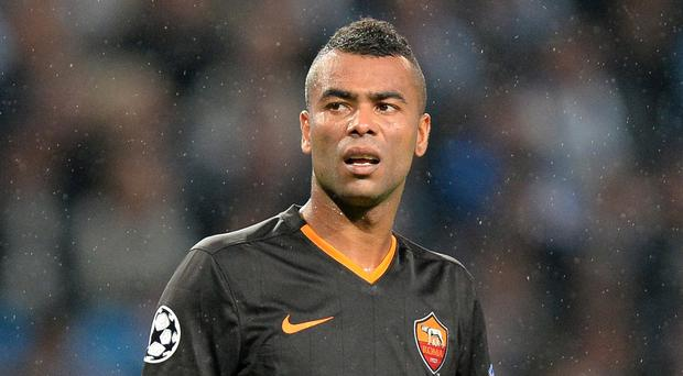 Ashley Cole is out of favour at Roma and could be a target for Villa