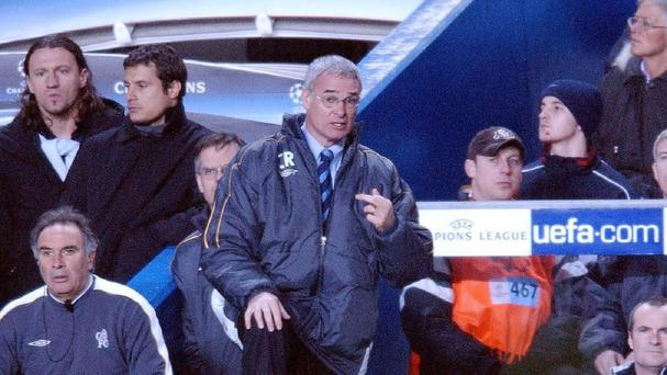 Claudio Ranieri pictured during his time at Chelsea