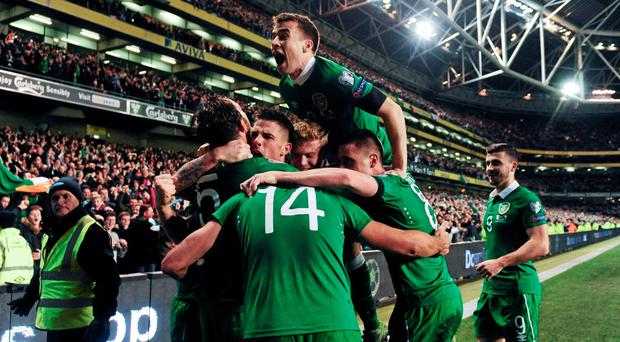 Ireland fans are optimistic of Ireland's chances ahead of tomorrow's draw for the 2016 European Championships in Paris.