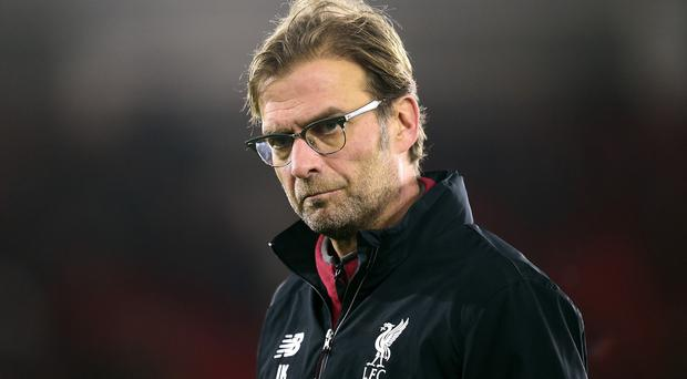 Liverpool manager Jurgen Klopp is happy with the options he has up front
