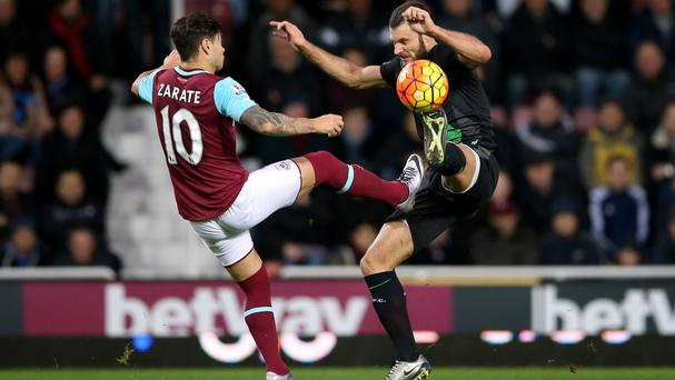 West Ham and Stoke played out a goalless draw