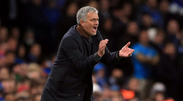 Jose Mourinho, pictured, says Diego Costa is happy at Chelsea
