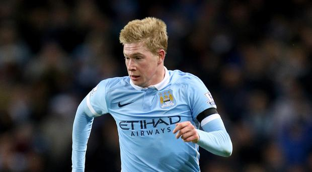 Kevin De Bruyne and Manchester City claimed three points against Swansea