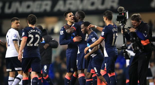 Newcastle United manager Steve McClaren believed that his side's enthusiasm during the half time team talk is what won them the game