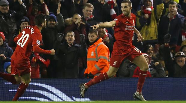 Liverpool captain Jordan Henderson's first goal of the season was an emotional moment