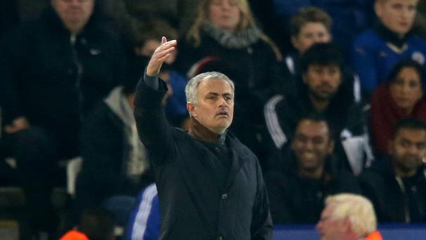 Jose Mourinho's touchline promptings again brought no reward