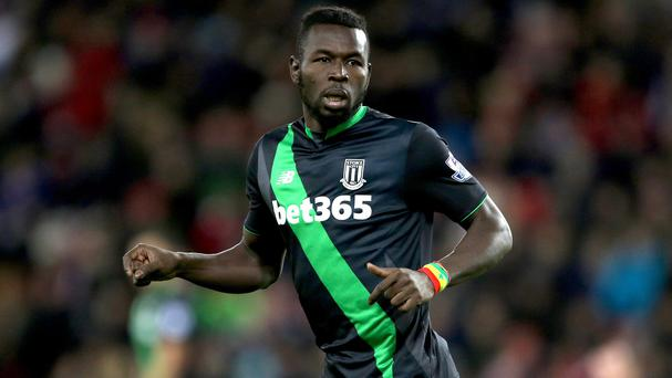 Mame Diouf was granted compassionate leave by Stoke after his mother died in September