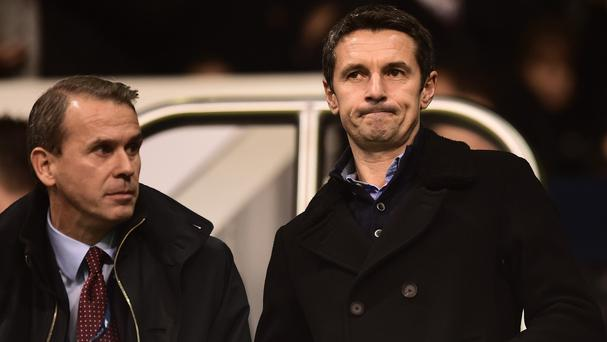 Remi Garde, right, has yet to win as Aston Villa boss