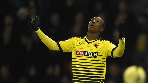 Odion Ighalo and Watford have not fared well when on live television