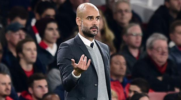 Bayern Munich manager Pep Guardiola, pictured, is one of the names in contention to replace Jose Mourinho at Chelsea