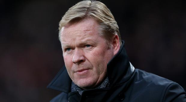 Southampton manager Ronald Koeman is concerned about his team's run of form