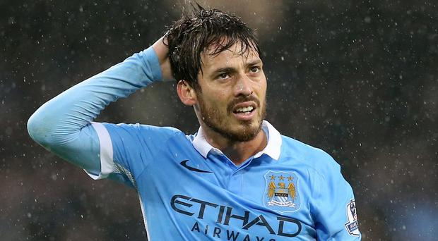 David Silva is one of several key players who have been on the sidelines this term