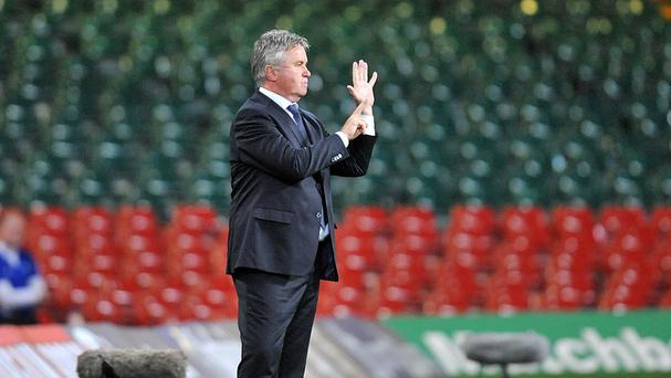 Guus Hiddink is set for another interim manager stint at Chelsea