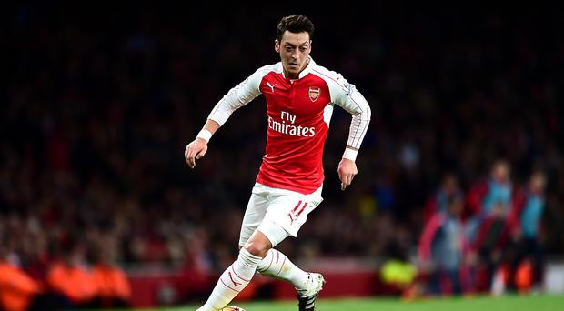 Mesut Ozil has earned the praise of his manager