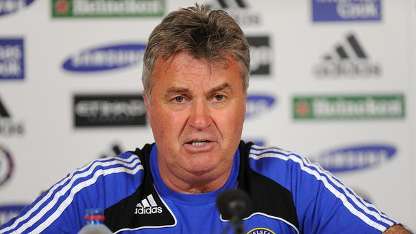 Guus Hiddink has been confirmed as Chelsea manager