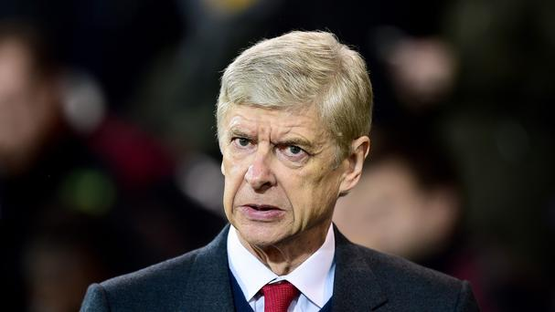 Arsenal manager Arsene Wenger takes his side to Manchester City for a crucial Premier League clash
