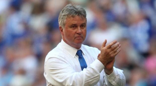 Guus Hiddink led Chelsea to the FA Cup in 2009