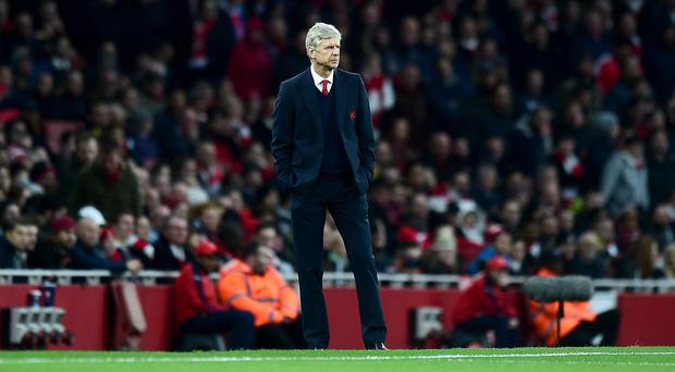 Arsenal manager Arsene Wenger has not won the Premier League title since 2004