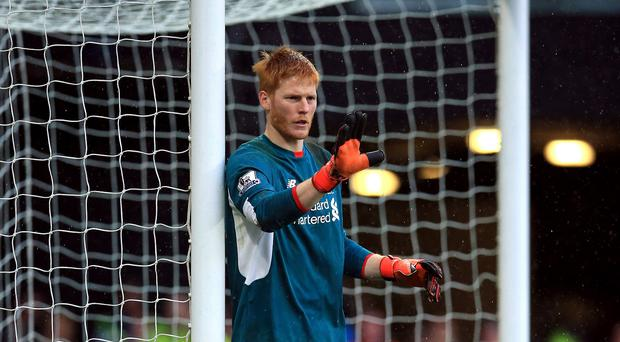 Adam Bogdan, pictured, has accepted the blame for Nathan Ake's goal in Liverpool's 3-0 defeat at Watford