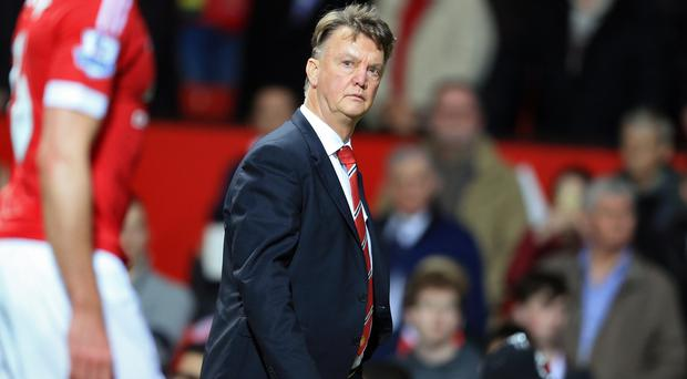 Louis van Gaal is under pressure at Old Trafford