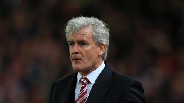 Stoke boss Mark Hughes is well aware of the pressures facing Louis van Gaal at Manchester United