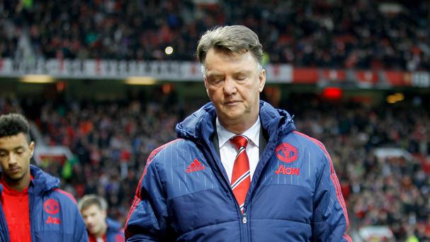 Manchester United manager Louis van Gaal is without a win in six games