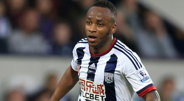 Saido Berahino has not started a game for West Brom since October