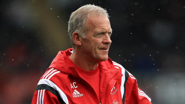Caretaker manager Alan Curtis says Swansea have gone back to basics to try and climb out of the Barclays Premier League relegation zone