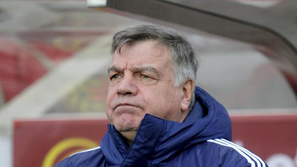 Sunderland manager Sam Allardyce, pictured, is ready to take on Manchester City counterpart Manuel Pellegrini