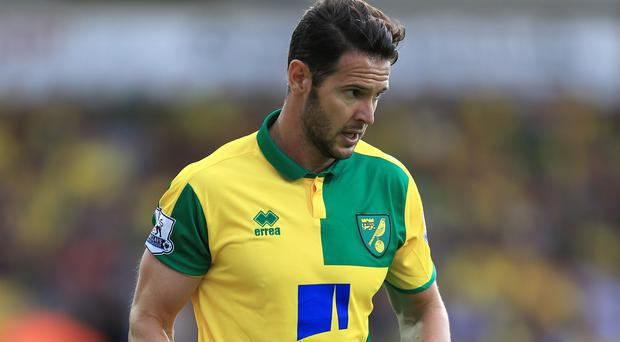 Matt Jarvis joined Norwich on loan in September