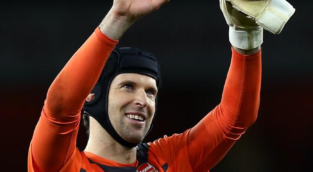 Goalkeeper Petr Cech was Arsenal's only signing this summer