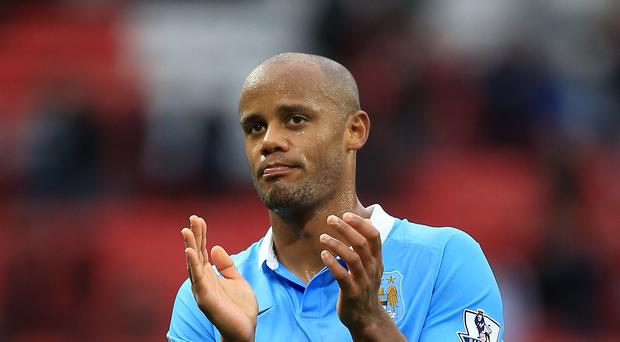 Vincent Kompany could return for Manchester City against Sunderland